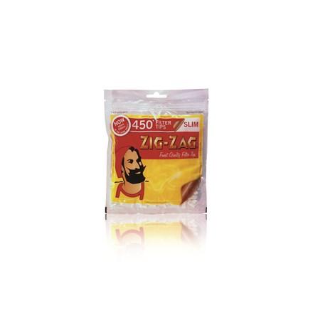 ZIG ZAG SLIM FILTERS - 450 TIPS PACK