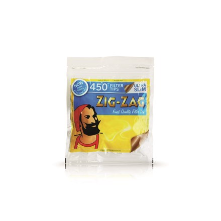 ZIG ZAG ULTRA SLIM FILTERS - 450 TIPS PACK