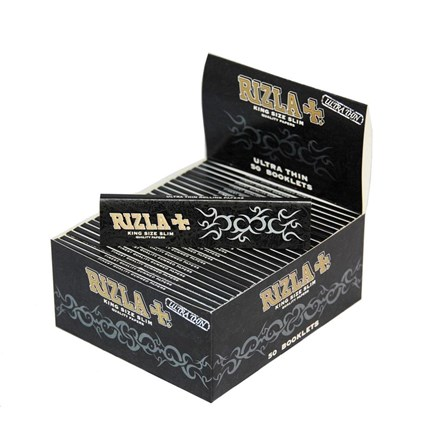 RIZLA KING SIZE BLACK - 50 PACK