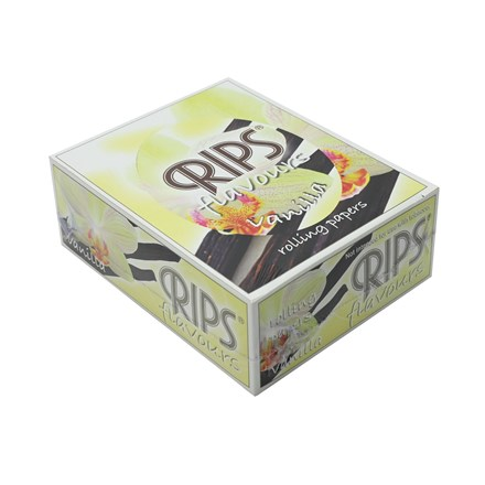 RIPS VANILLA FLAVOURED PAPERS - 24 PACK
