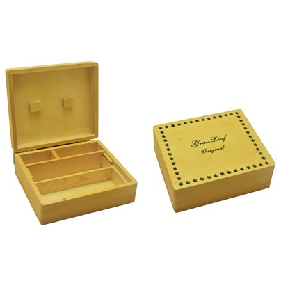 LARGE WOODEN ROLL BOX