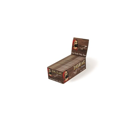 ZIG ZAG UNBLEACHED REGULAR SIZE PAPERS - 50 PACK