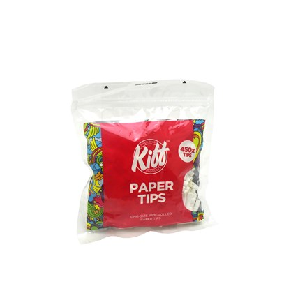KIFF KING SIZE PRE-ROLLED 450 PAPER TIPS