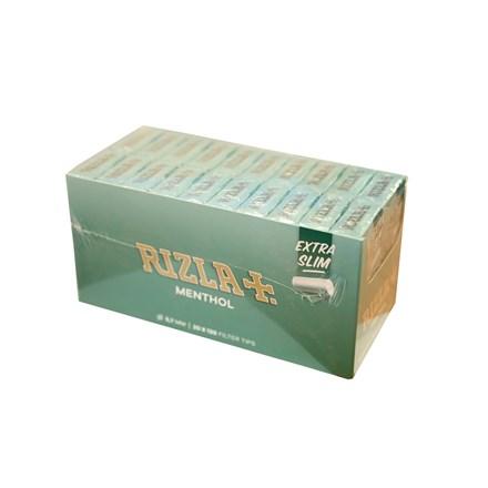 RIZLA MENTHOL ULTRA SLIM FILTER TIPS - 20 PACK