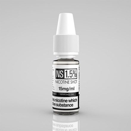 NICOTINE SHOT 1.5% 10ML