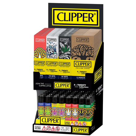 CLIPPER TWENTY COLLECTION 2 TIER DISPLAY UNIT