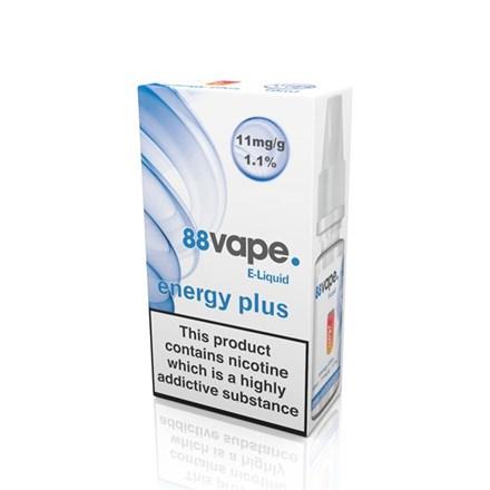 88 VAPE E-LIQUID 11MG ENERGY PLUS 10ML