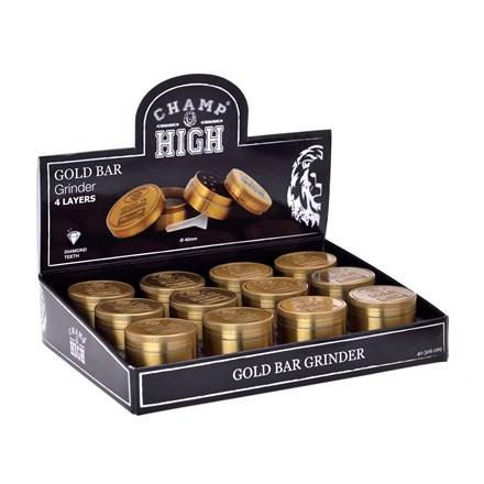CHAMP - HIGH GOLD GRINDER - 40MM