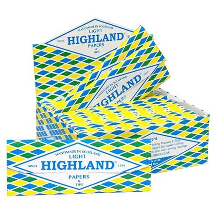 HIGHLAND - LIGHT PAPERS - 24 PACK
