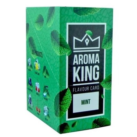 AROMA KING FLAVOUR CARD - MINT - 25 PACK