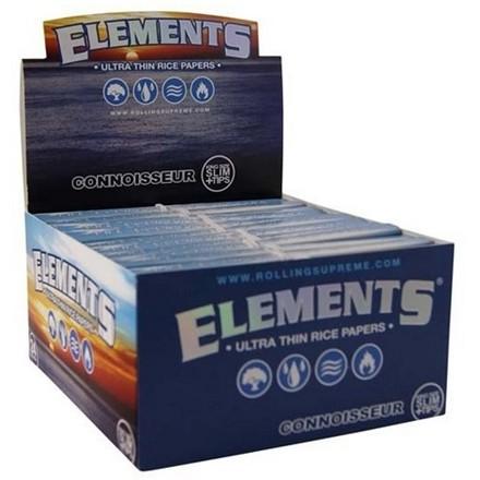ELEMENTS BLUE CONNOISSEUR PAPERS + TIPS - 24 PACK
