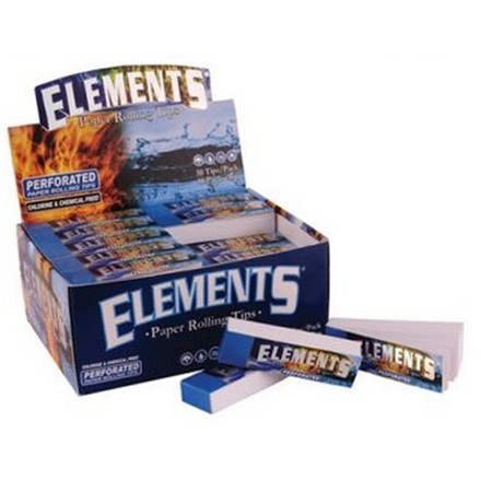ELEMENTS PERFORATED PAPER TIPS - 50 PACK