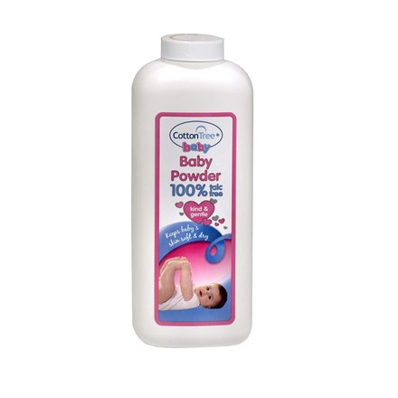 COTTON TREE - BABY POWDER TALC FREE - 280G