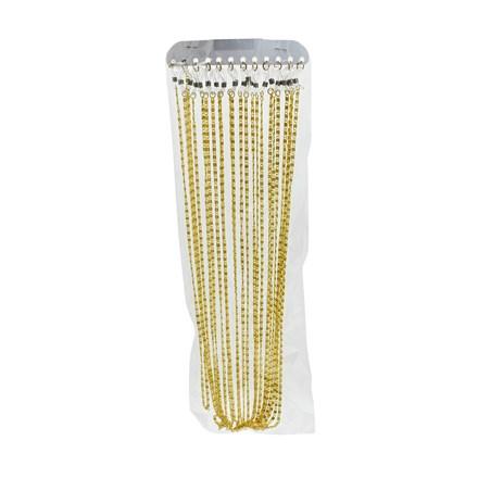 SWL - ALUMINIUM GLASSES CORD GOLD - 12 PACK