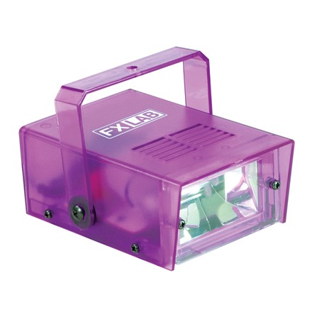 SOUND LAB MINI STROBE LIGHT PURPLE COLOUR