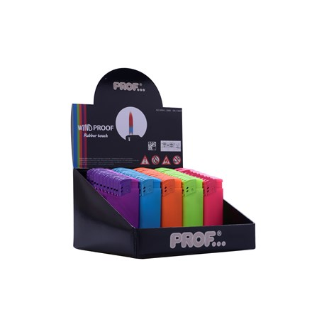 PROF - FLAMY FASHION COLOUR LIGHTER - 50 PACK