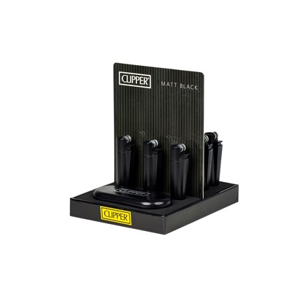CLIPPER METAL FLINT MATT BLACK (12)