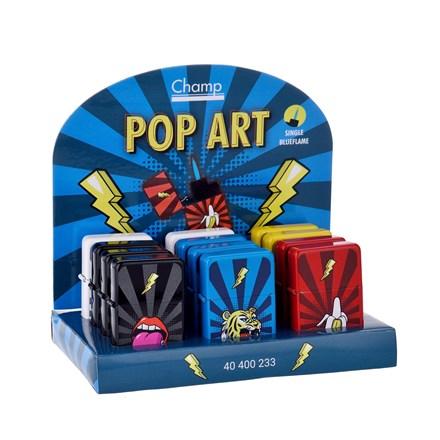 CHAMP - POP ART - WINDPROOF LIGHTER