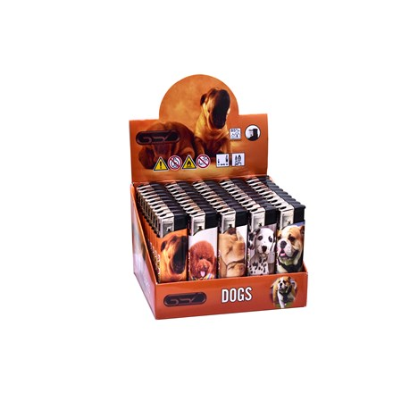 GSD ELECTRONIC LIGHTER - DOGS - 50 PACK