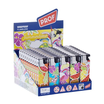 PROF WINDPROOF LIGHTER- SUMMERDREAM - 50PACK
