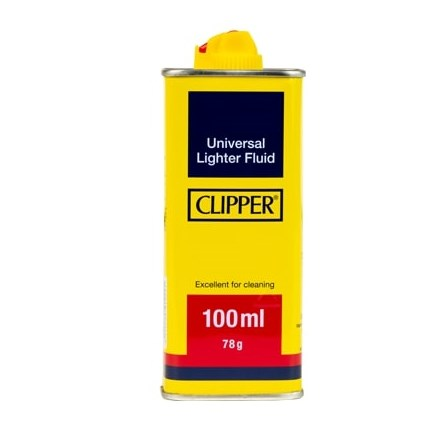 CLIPPER - LIGHTER FLUID 100ML - 6 PACK