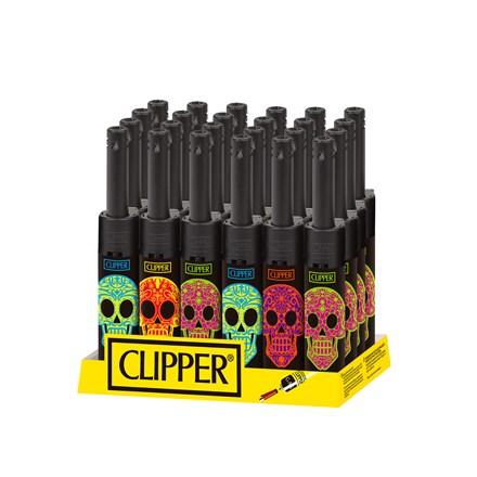 CLIPPER MINI TUBE - MEXICAN SKULLS - 24 PACK