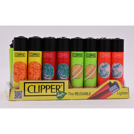 CLIPPER CLASSIC FLINT - ASTRONOMIC 1- 40 PACK