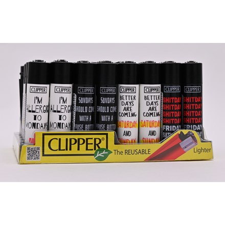 CLIPPER CLASSIC FLINT - WEEKEND SENTENCES -40 PACK