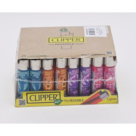 CLIPPER CLASSIC FLINT - POUND LEAVES - 40 PACK