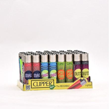 CLIPPER CLASSIC FLINT - PSYCHO WAYS - 40 PACK