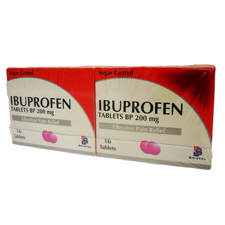 IBUPROFEN TABLETS BP 200MG - 12 PACK