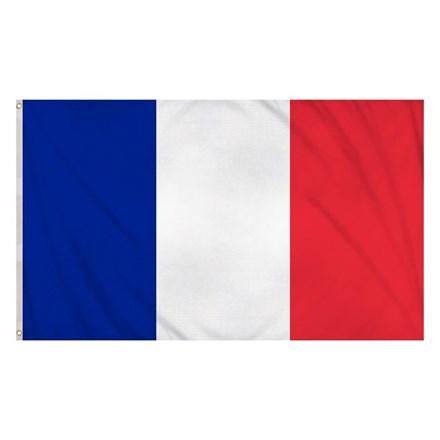 FRANCE FLAG 5X3FT