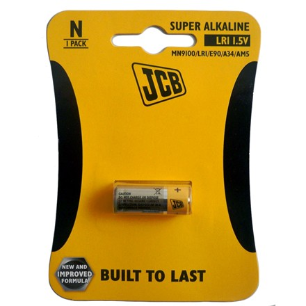 JCB ALKALINE LR1 1.5V - SINGLE PACK
