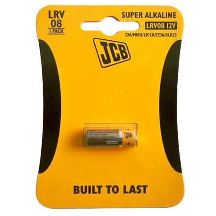 JCB ALKALINE LRV08 - SINGLE PACK