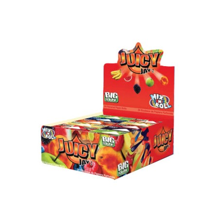 JUICY JAY PAPER ROLLS MIX N ROLL - 24 PACK