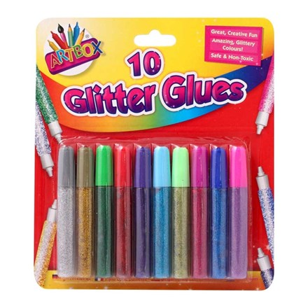 ARTBOX - GLITTER GLUE - 10 PACK