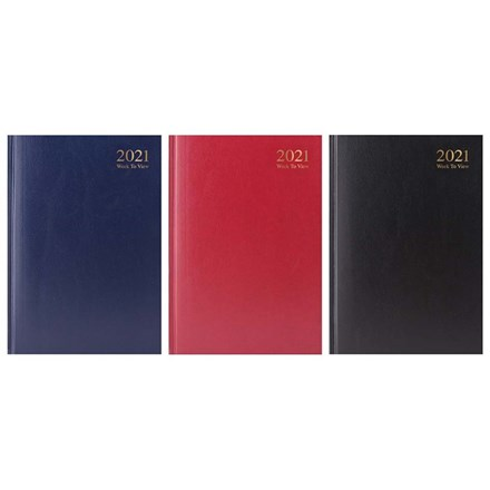 2021 A5 DIARY - WEEK TO WEEK VIEW