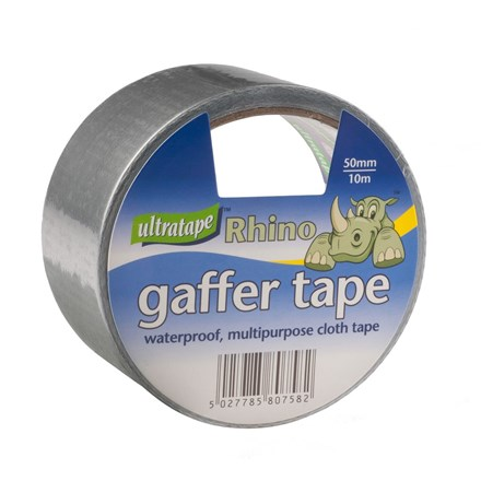 ULTRATAPE - SMALL RHINO CLOTH TAPE - 10M SILVER