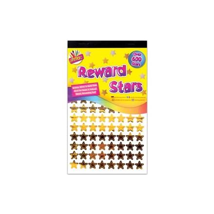 ARTBOX - REWARD STARS STICKERS - 600 PACK