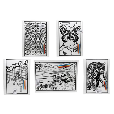 LARGE COLOURING BOARD