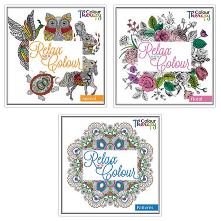 COLOURING BOOK SERIES ONE - 3 ASST
