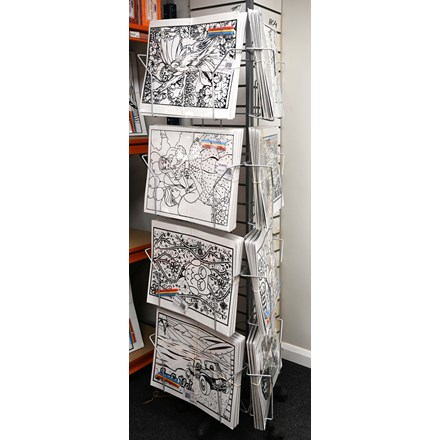 STAND FOR LARGE COLOURING BOARDS