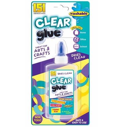151 - LIQUID CLEAR GLUE - 150ML