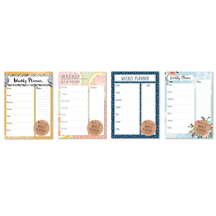 JUST TO SAY WEEKLY DESK PLANNER