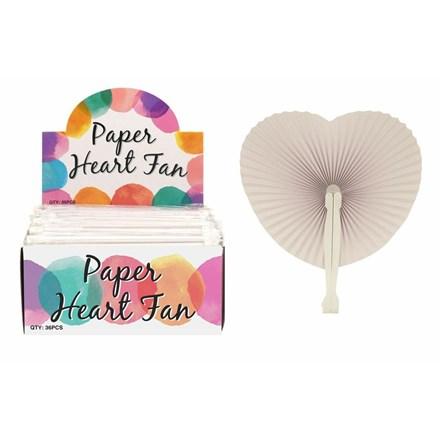 PAPER HEART FAN