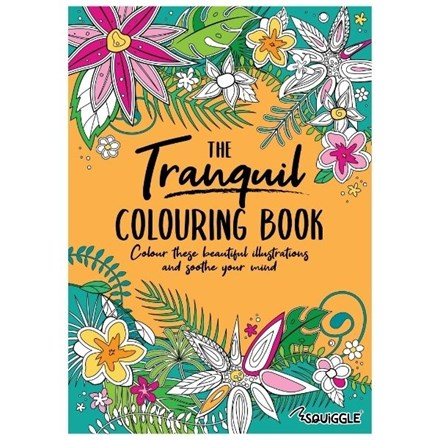 SQUIGGLE - THE TRANQUIL COLOURING BOOK