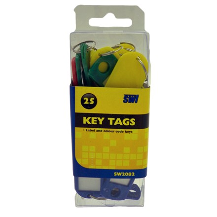 SWL - KEY TAGS - 25 PACK