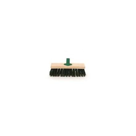 """BENTLEY - GREEN PVC BROOM - 11"""""""