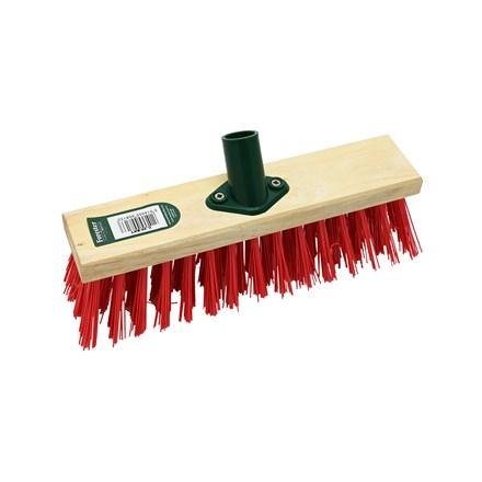 "BENTLEY - RED PVC BRUSH HEAD - 11"""