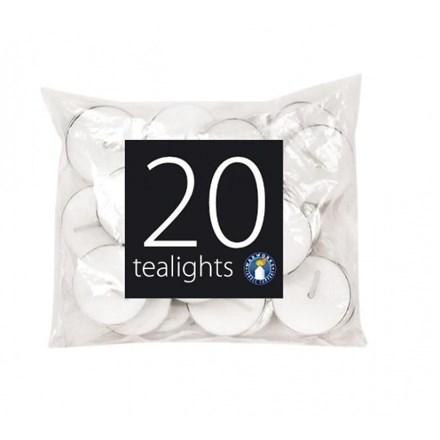 TEALIGHT CANDLES 20PK